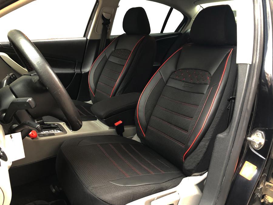 Universal Autositzbezüge Schwarz für Mitsubishi Pajero Sitzbezüge Schonbezüge