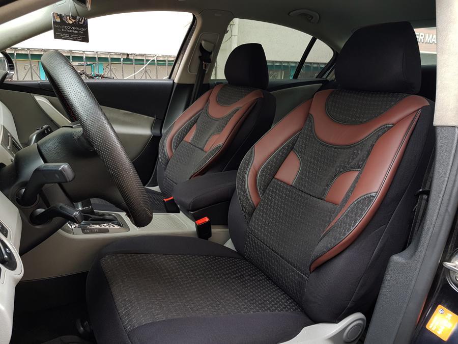 Fiat Panda Classic ab 02//2012 Schonbezüge Super Speed rot Autositzbezug
