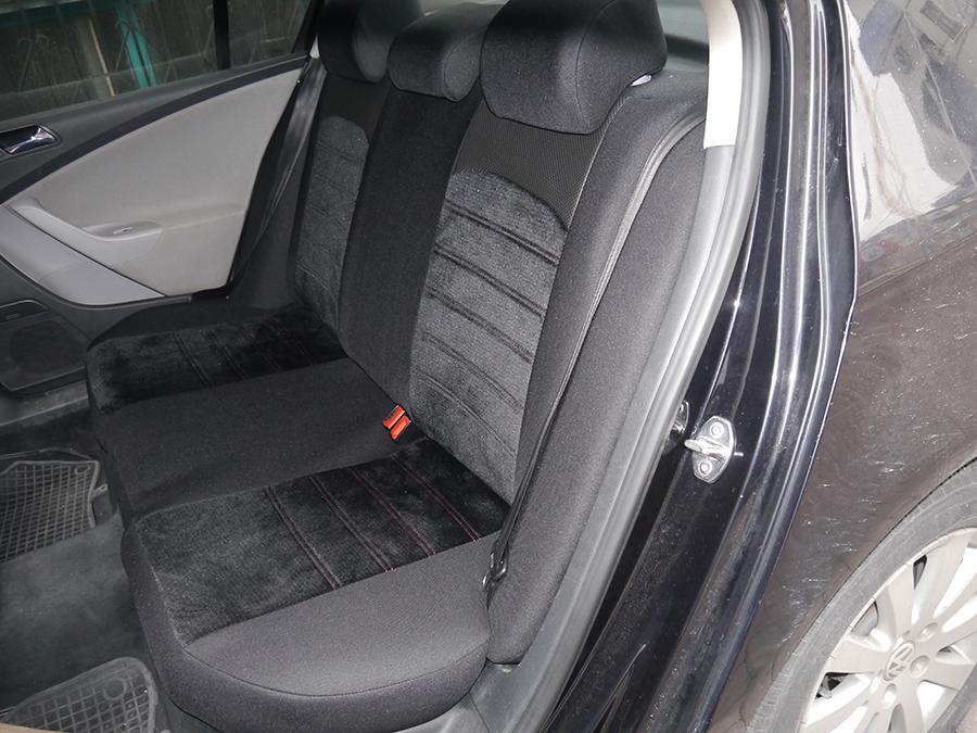 Schonbezüge Sitzbezüge Komplett für Honda CR-V NO414491 schwarz-rot