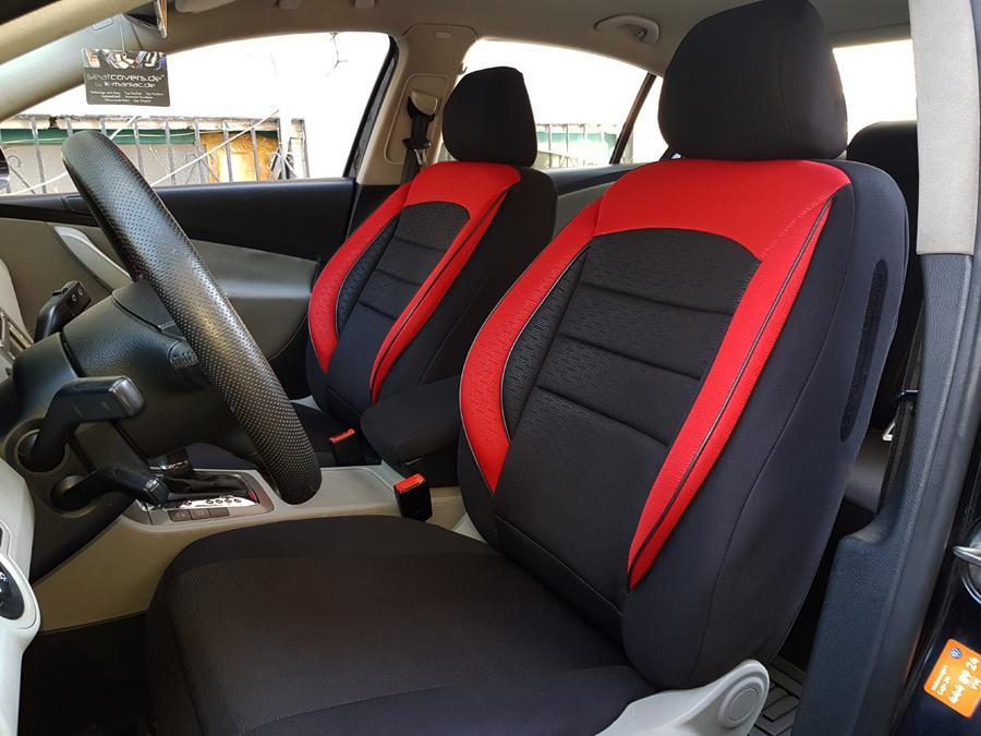 Sitzbezug klimatisierend schwarz für Nissan X-Trail 1 T30 Geländewagen SUV 5-tür