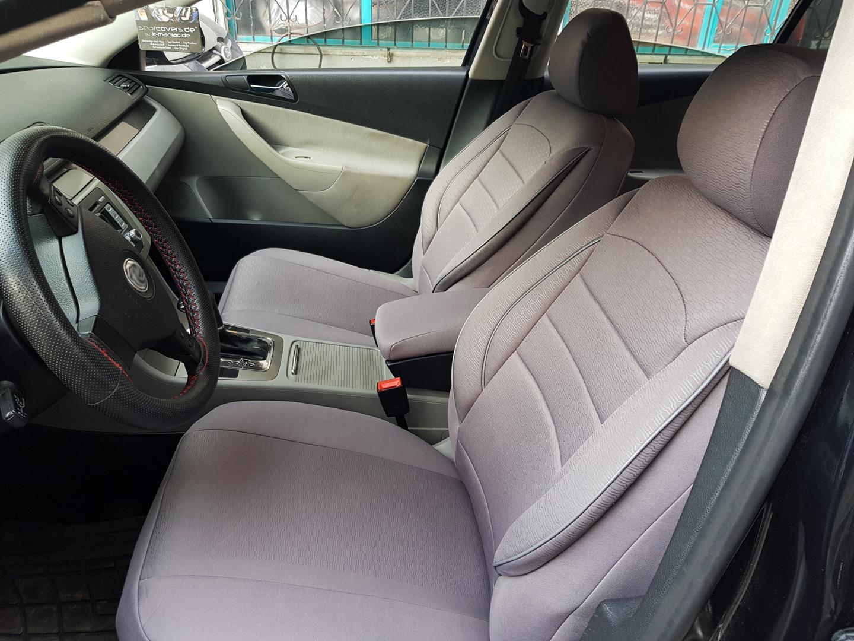 Sitzbezüge Autositzbezüge für Ford C-Max grau V858475 Vordersitze