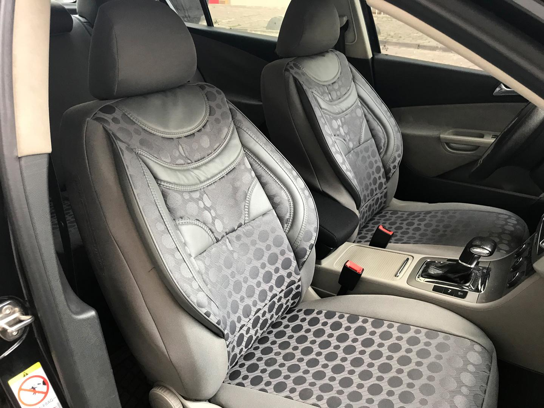 Asiento de coche referencias fundas para asientos para ford focus gris v258509 delanteros