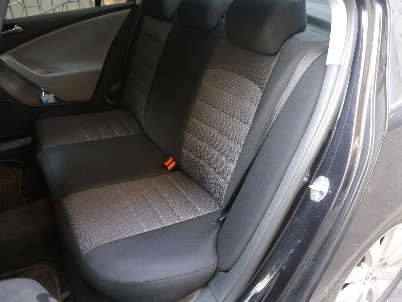 Autositzbezüge Sitzbezüge Maßgefertigt für Peugeot 2008 Erjot Grau
