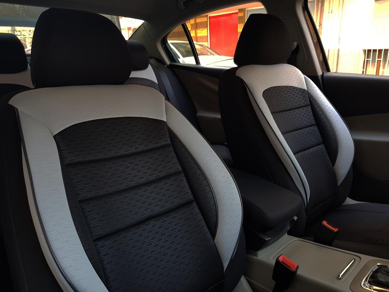 Sitzbezüge Komplettset für Renault Kadjar NO314898 schwarz-grau