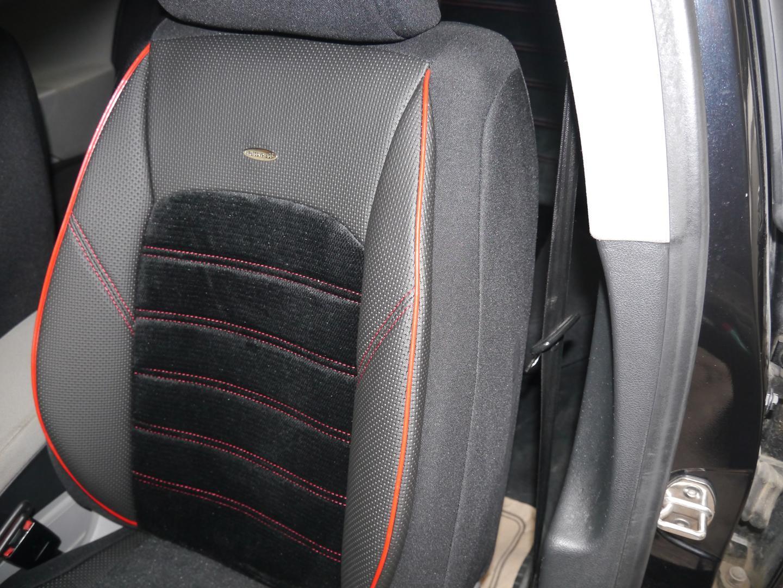 Universal Sitzbezüge Grau für Volkswagen Caddy III Schonbezüge Set Autositzbezug