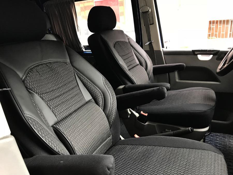 sitzbez ge schonbezug vw t5 t6 multivan caravelle kombi. Black Bedroom Furniture Sets. Home Design Ideas